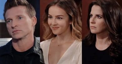 General Hospital Spoilers: Jason Morgan (Steve Burton) - Kristina Davis (Lexi Ainsworth) - Sam McCall (Kelly Monaco)