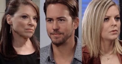 General Hospital Spoilers: Liesl Obrecht (Kathleen Gati) - Peter August (Wes Ramsey) - Maxie Jones (Kirsten Storms)