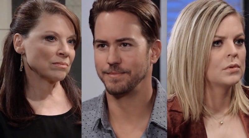 General Hospital Spoilers: Liesl Obrecht (Kathleen Gati) - Peter August (Wes Ramsey) - Maxie Jones (Kirsten Storms)