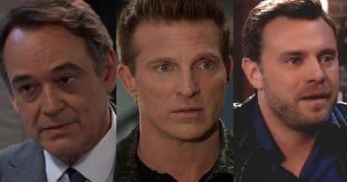 General Hospital Spoilers: Ryan Chamberlain - (Jon Lindstrom) - Jason Morgan (Steve Burton) - Drew Cain (Billy Miller)