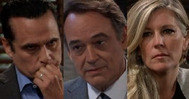 General Hospital Spoilers: Sonny Corinthos (Maurice Benard) - Ryan Chamberlain (Jon Lindstrom) - Carly Corinthos (Laura Wright)