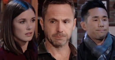 General Hospital Spoilers: Willow Tait (Katelyn MacMullen) - Julian Jerome (William deVry) - Brad Cooper (Parry Shen)