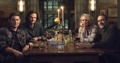 Supernatural Spoilers: Dean Winchester (Jensen Ackles) - Sam Winchester (Jared Padalecki) - Mary Winchester (Samantha Smith) - John Winchester (Jeffrey Dean Morgan)