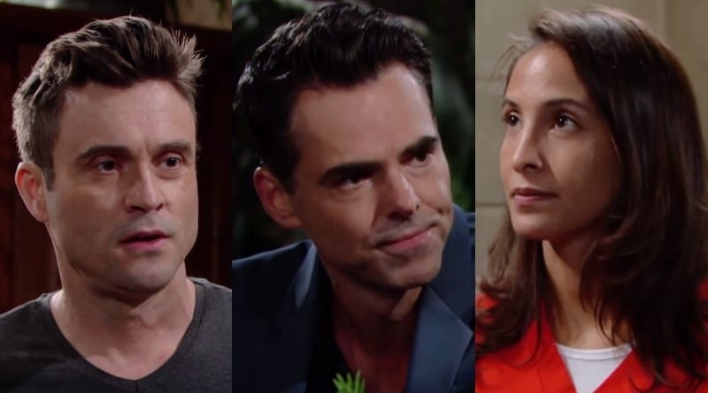 Young and the Restless Spoilers: Cane Ashby (Daniel Goddard) - Billy Abbott (Jason Thompson) - Lily Winters (Christel Khalil)