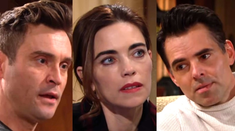 Young and the Restless Spoilers: (Cane Ashby) Daniel Goddard - Victoria Newman(Amelia Heinle) - Billy Abbott (Jason Thompson)