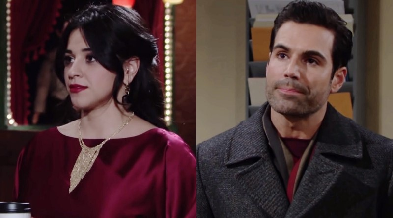Young and the Restless Spoilers: Mia Rosales (Noemi Gonzalez) - Rey Rosales (Jordi Vilasuso)