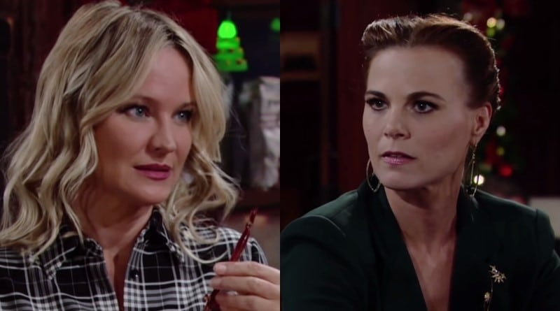Young and the Restless Spoilers: Sharon Newman (Sharon Case) - Phyllis Abbott (Gina Tognoni)