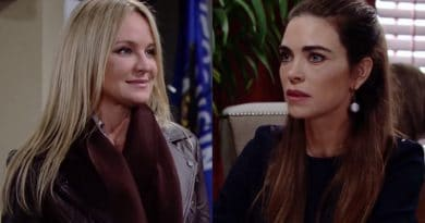 Young and the Restless Spoilers: Sharon Newman (Sharon Case) - Victoria Newman (Amelia Heinle)