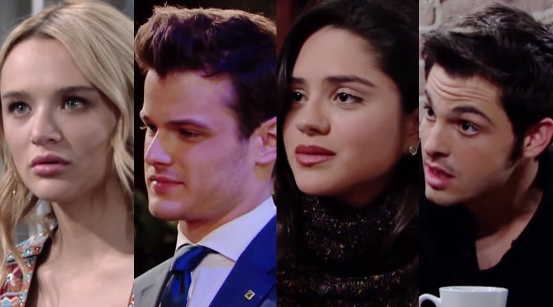 Young and the Restless Spoilers: Summer Newman (Hunter King) - Kyle Abbott (Michael Mealor) - Lola Rosales (Sasha Calle) - Fenmore Baldwin (Zach Tinker)