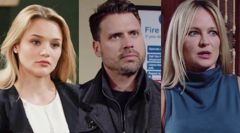 Young and the Restless Spoilers: Summer Newman (Hunter King) - Nick Newman (Joshua Morrow) - Sharon Newman (Sharon Case)