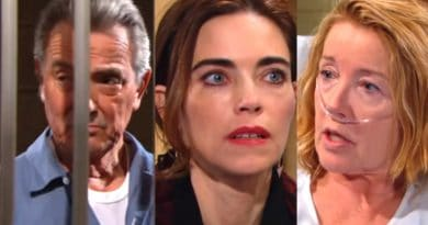 Young and the Restless Spoilers: Victor Newman (Eric Braeden) - Nikki Newman (Melody Thomas Scott) - Victoria Newman (Amelia Heinle)