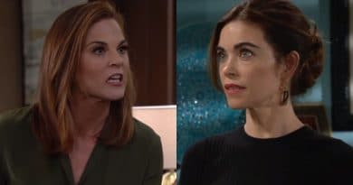 Young and the Restless Spoilers: Phyllis Abbott (Gina Tognoni) - Victoria Newman (Amelia Heinle)