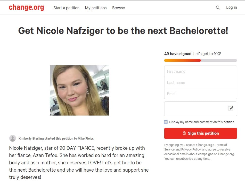 90 Day Fiance - Nicole Nafziger - The Bachelorette