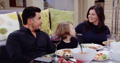Bold and the Beautiful Spoilers: Bill Spencer (Don Diamont) - Will Spencer (Finnegan George) - Katie Logan (Heather Tom)