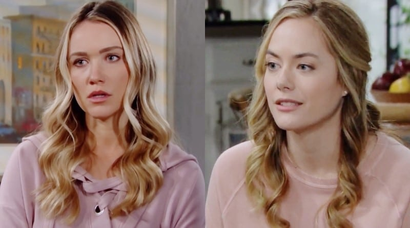 Bold and the Beautiful Spoilers: Florence Fulton (Katrina Bowden) - Hope Logan (Annika Noelle)