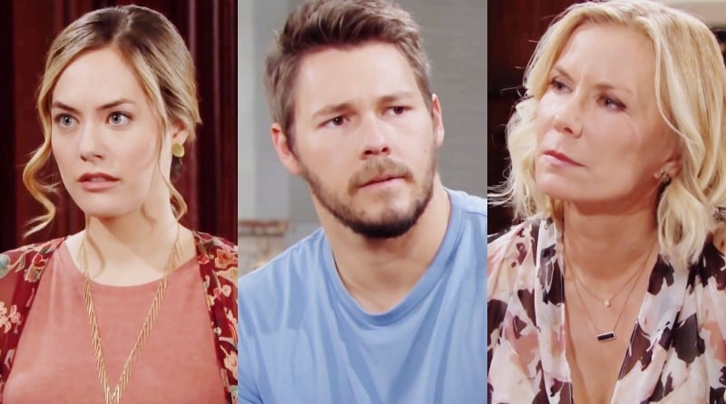Bold and the Beautiful Spoilers: Hope Logan (Annika Noelle) - Liam Spencer (Scott Clifton) - Brooke Logan (Katherine Kelly Lang)