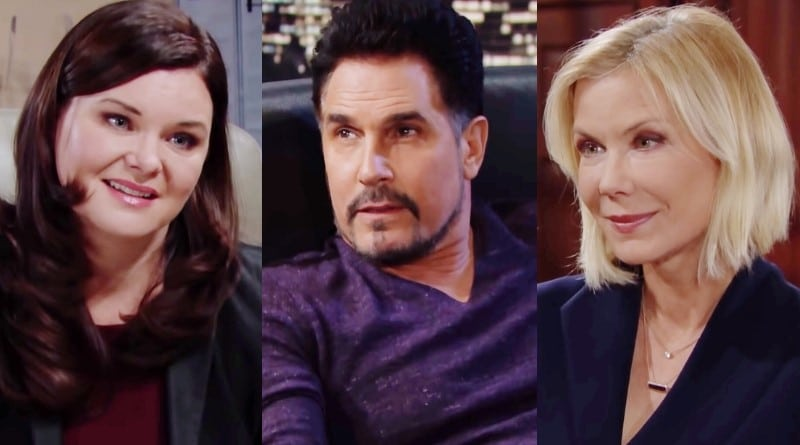 Bold and the Beautiful Spoilers: Katie Logan (Heather Tom) - Bill Spencer (Don Diamont) - Brooke Logan (Katherine Kelly Lang)