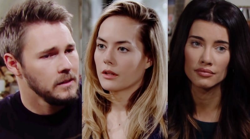 Bold and the Beautiful Spoilers: Liam Spencer (Scott Clifton) - Hope Logan (Annika Noelle) - Steffy Forrester (Jacqueline MacInnes Wood)