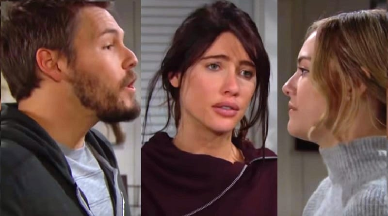 Bold and the Beautiful Spoilers: Liam Spencer (Scott Clifton) - Steffy Forrester (Jacqueline MacInnes Wood) - Hope Liam (Annika Noelle)