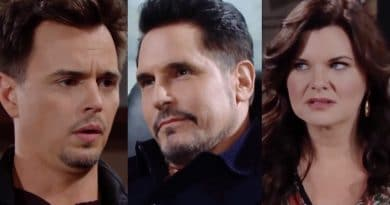 Bold and the Beautiful Spoilers: Wyatt Spencer (Darin Brooks) - Bill Spencer (Don Diamont) - Katie Logan (Heather Tom)