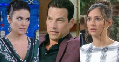 Days of Our Lives Spoilers: Chloe Lane (Nadia Bjorlin) - Stefan DiMera (Tyler Christopher) - Gabi Hernandez (Camila Banus)