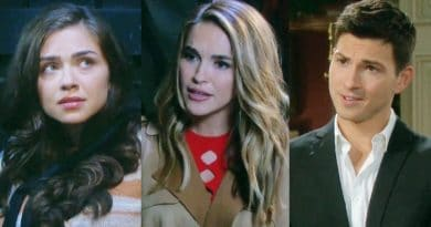 Days of Our Lives Spoilers: Ciara Brady (Victoria Konefal) - Jordan Ridgeway (Chrishell Stause Hartley) - Ben Weston (Robert Scott Wilson)