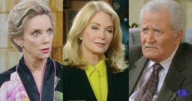 Days of Our Lives Spoilers: Diana Cooper (Judith Chapman) - Marlena Evans (Deidre Hall) - Victor Kiriakis (John Aniston)