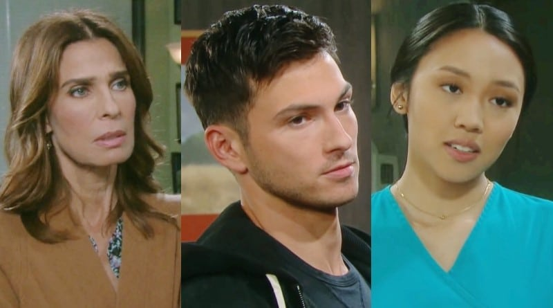 Days of Our Lives Spoilers: Hope Brady (Kristian Alfonso) - Ben Weston (Robert Scott Wilson) - Haley Chen (Thia Megia)