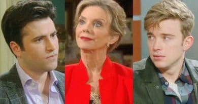 Days of Our Lives Spoilers: Sonny Kiriakis (Freddie Smith) - Diana Colville (Judith Chapman) - Will Horton (Chandler Massey)