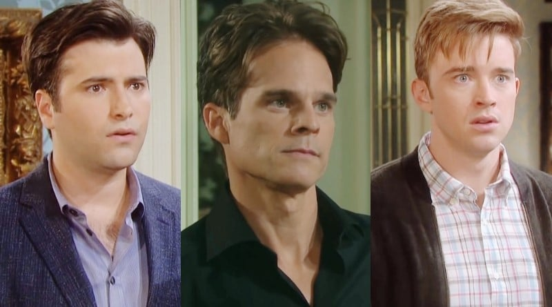 Days of Our Lives Spoilers: Sonny Kiriakis (Freddie Smith) - Leo Stark (Greg Rikaart) - Will Horton (Chandler Massey)