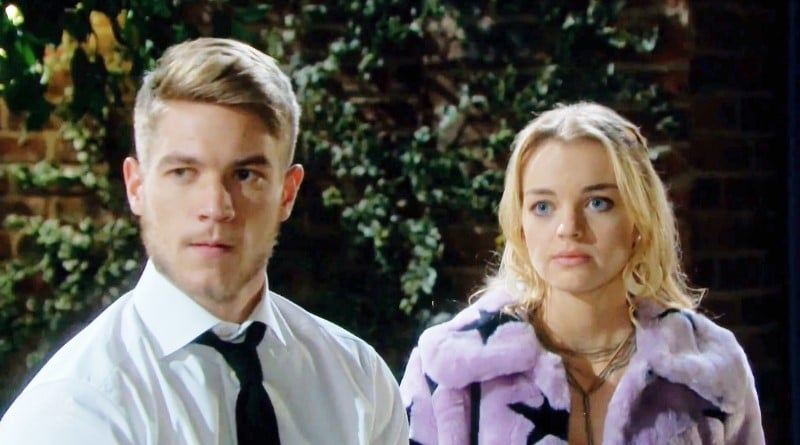 Days of Our Lives Spoilers: Tripp Dalton (Lucas Adams) - Claire Brady (Olivia Rose Keegan)
