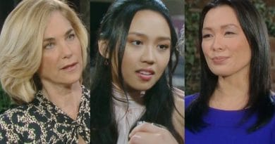Days of Our Lives Spoilers: Eve Donovan (Kassie DePaiva) - Haley Chen (Thia Megia) - Melinda Trask (Laura Kai Chen)
