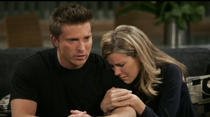 General Hospital Spoilers: Carly Corinthos (Laura Wright) Jason Morgan (Steve Burton)