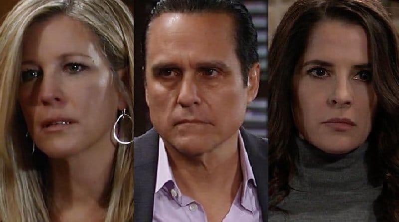 General Hospital Spoilers: Carly Corinthos (Laura Wright) Sonny Corinthos (Maurice Benard) - Sam McCall (Kelly Monaco)