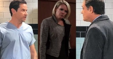 General Hospital Spoilers: Franco Baldwin (Roger Howarth) - Ava Jerome (Maura West) - Ryan Chamberlain (Jon LIndstrom)