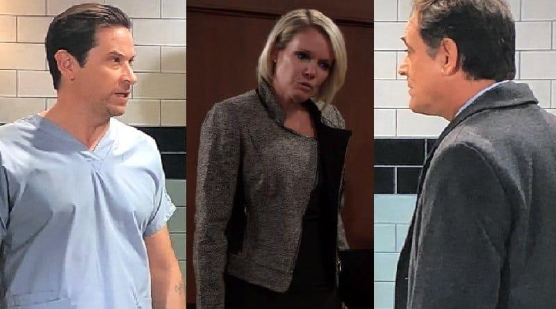General Hospital Spoilers: Franco Baldwin (Roger Howarth) - Ava Jerome (Maura West) - Ryan Chamberlain (Jon LIndstrom)