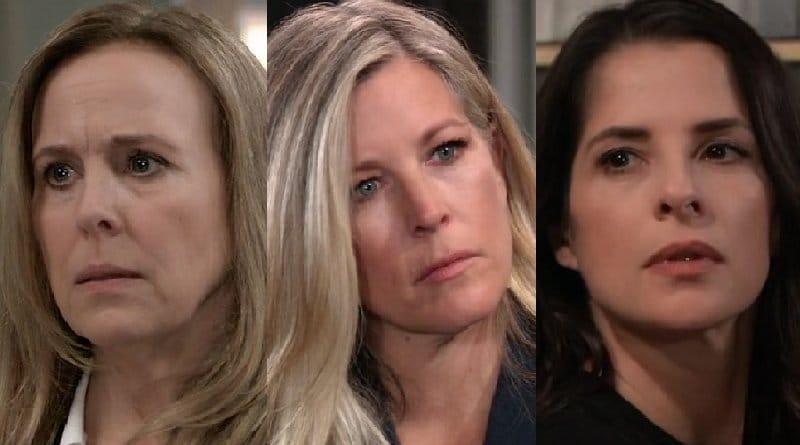 General Hospital Spoilers: Laura Spencer (Genie Francis) - Carly Corinthos (Laura Wright) - Sam McCall (Kelly Monaco)