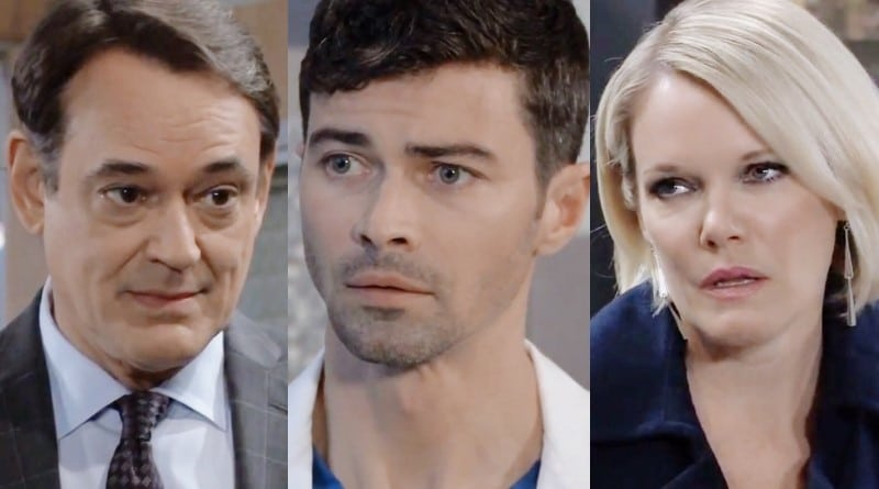 General Hospital Spoilers: Ryan Chamberlain (Jon Lindstrom) - Griffin Munro (Matt Cohen) - Ava Jerome (Maura West)
