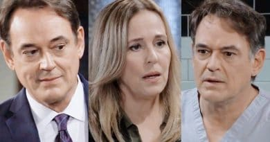 General Hospital Spoilers: Ryan Chamberlain (Jon Lindstrom) - Laura Spencer (Genie Francis) - Kevin Collins (Jon Lindstrom)