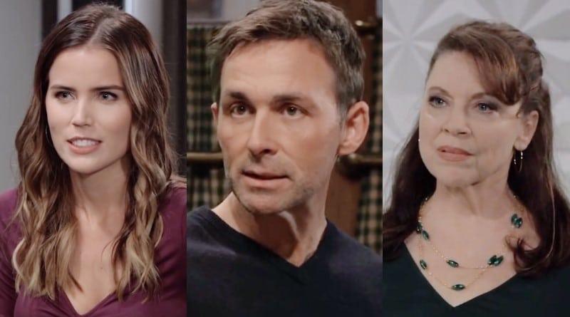 General Hospital Spoilers: Sasha Gilmore (Sofia Mattsson) - Valentin Cassadine (James Patrick Stuart) - Liesl Obrecht (Kathleen Gati)
