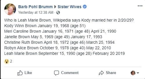Sister Wives: Kody Brown Fifth Wife