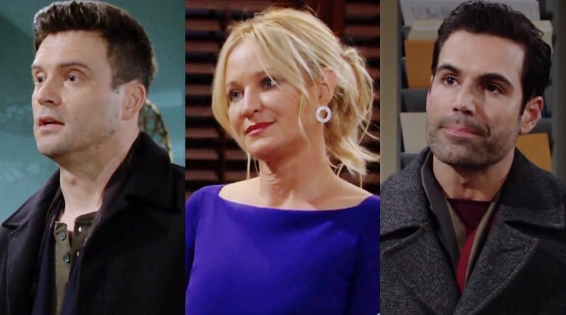 Young and the Restless Spoilers: Cane Ashby (Daniel Goddard) - Sharon Newman (Sharon Case) - Rey Rosales (Jordi Vilasuso)