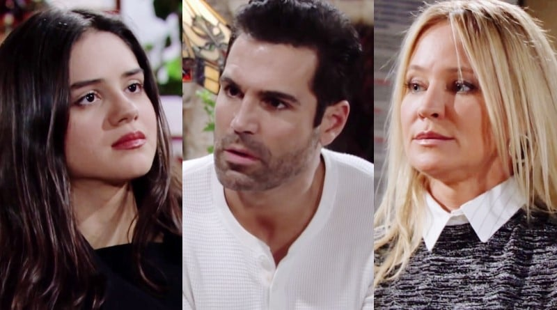 Young and the Restless Spoilers: Lola Rosales (Sasha Calle) - Rey Rosales (Jordi Vilasuso) - Sharon Newman (Sharon Case)