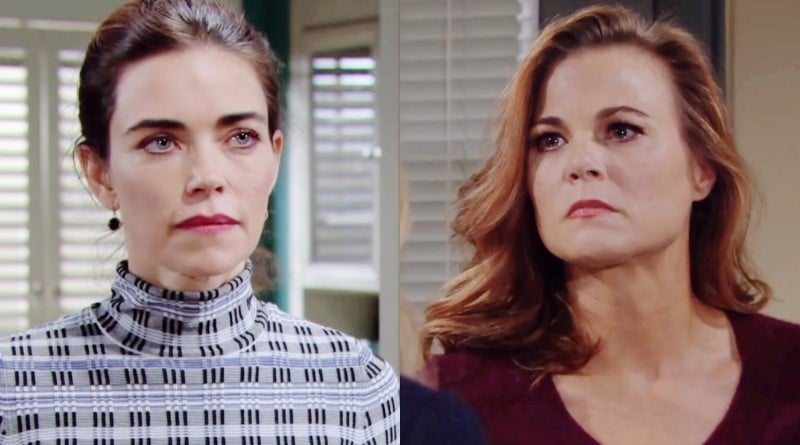 Young and the Restless Spoilers: Victoria Newman (Amelia Heinle) - Phyllis Abbott (Gina Tognoni)