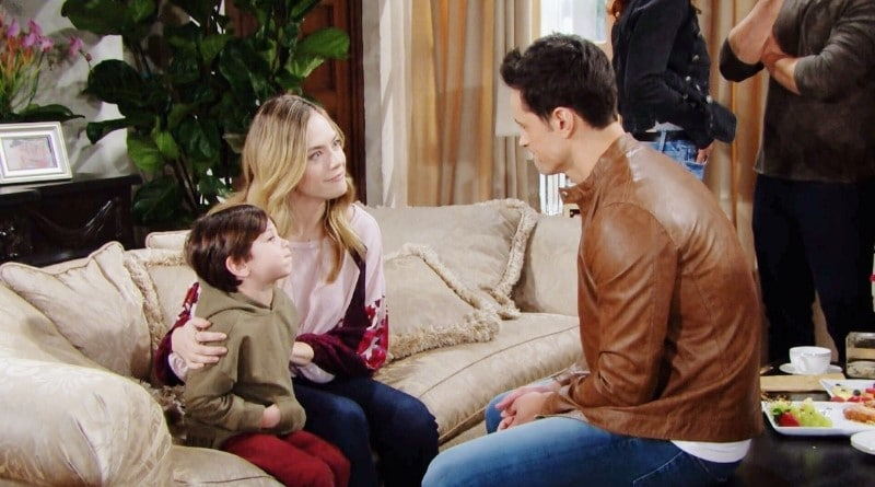 Bold and the Beautiful Spoilers: Douglas Forrester (Henry James Samiri) - Hope Logan (Annika Noelle) - Thomas Forrester (Matthew Atkinson)