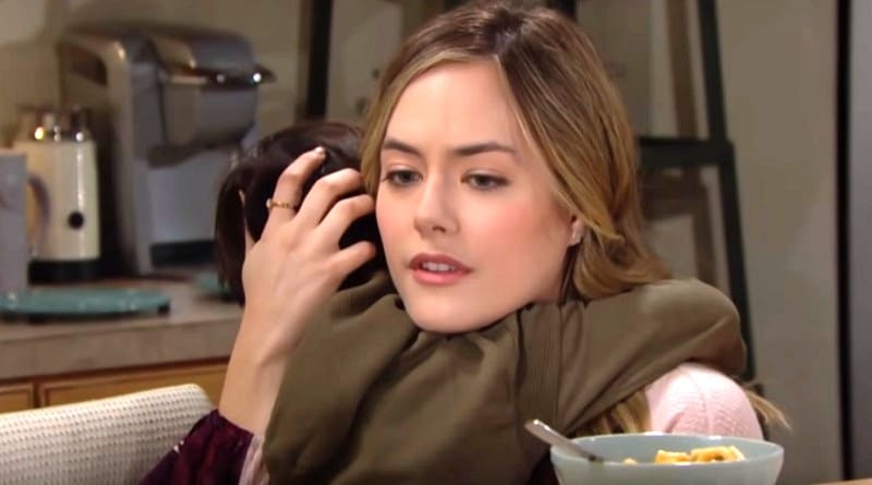 Bold and the Beautiful Spoilers: Hope Logan (Annika Noelle) - Douglas Forrester (Henry Joseph Samiri)