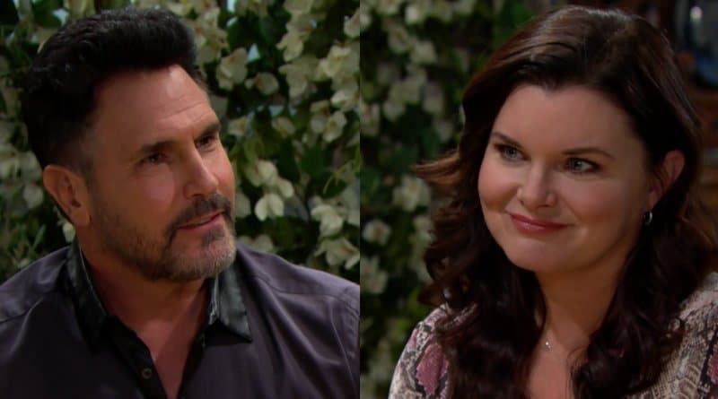 Bold and the Beautiful Spoilers: Katie Logan (Heather Tom) - Bill Spencer (Don Diamont)