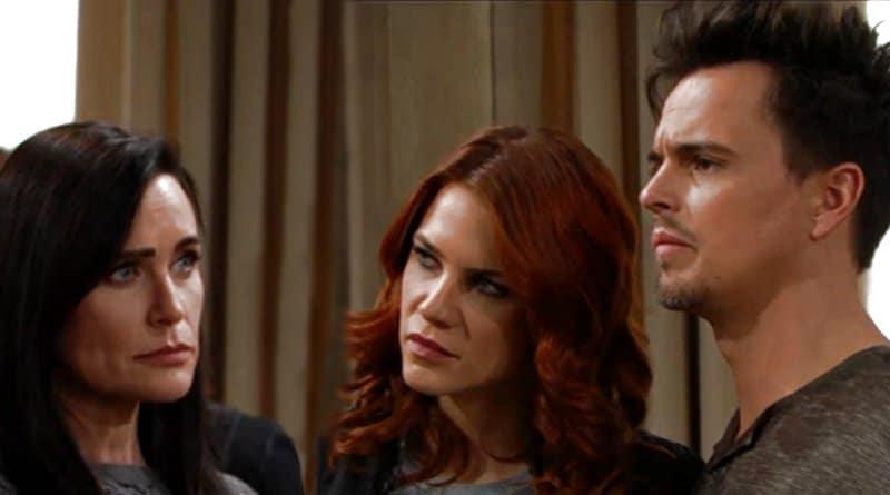 Bold and the Beautiful Spoilers: Quinn Fuller (Rena Sofer) - Sally Spectra (Courtney Hope) - Wyatt Spencer (Darin Brooks)