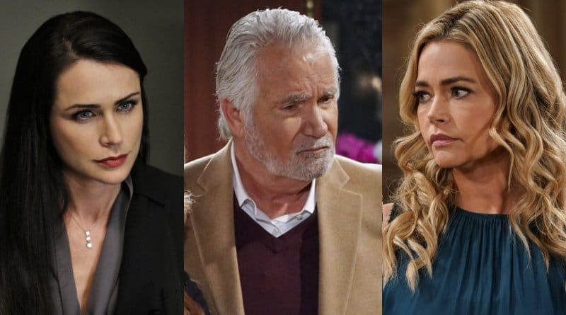 Bold and the Beautiful Spoilers: Shauna Fulton (Denise Richards) - Eric Forrester (John McCook) - Quinn Fuller (Rena Sofer)