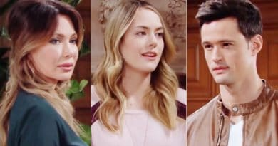 Bold and the Beautiful Spoilers: Taylor Hayes (Hunter Tylo) - Hope Logan (Annika Noelle) - Thomas Forrester (Matthew Atkinson)